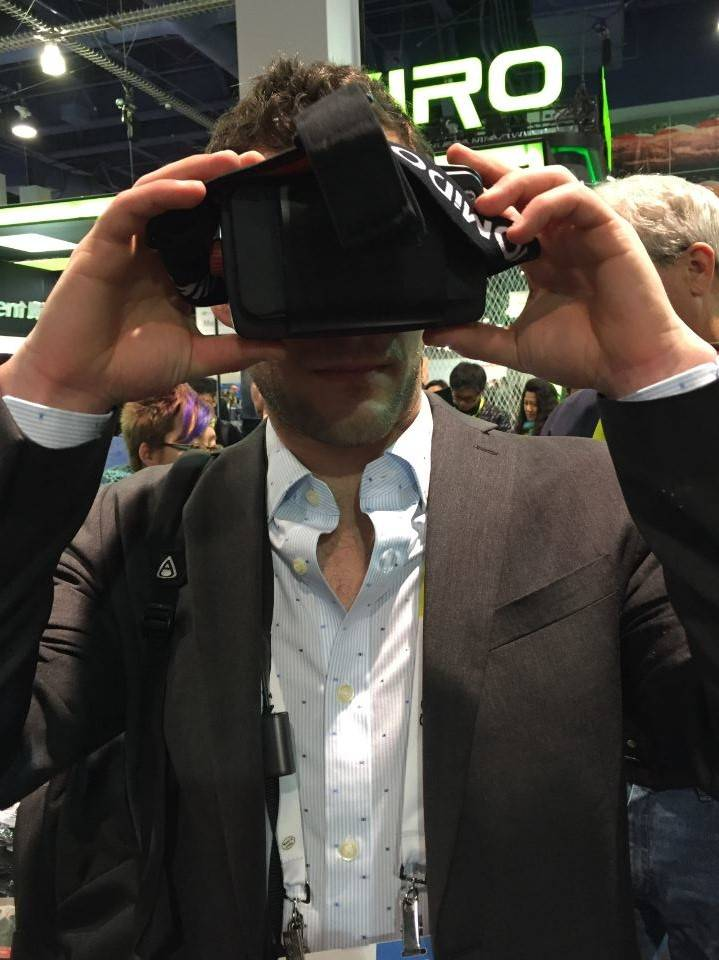 CES 2016 Jake Tulsky virtual reality
