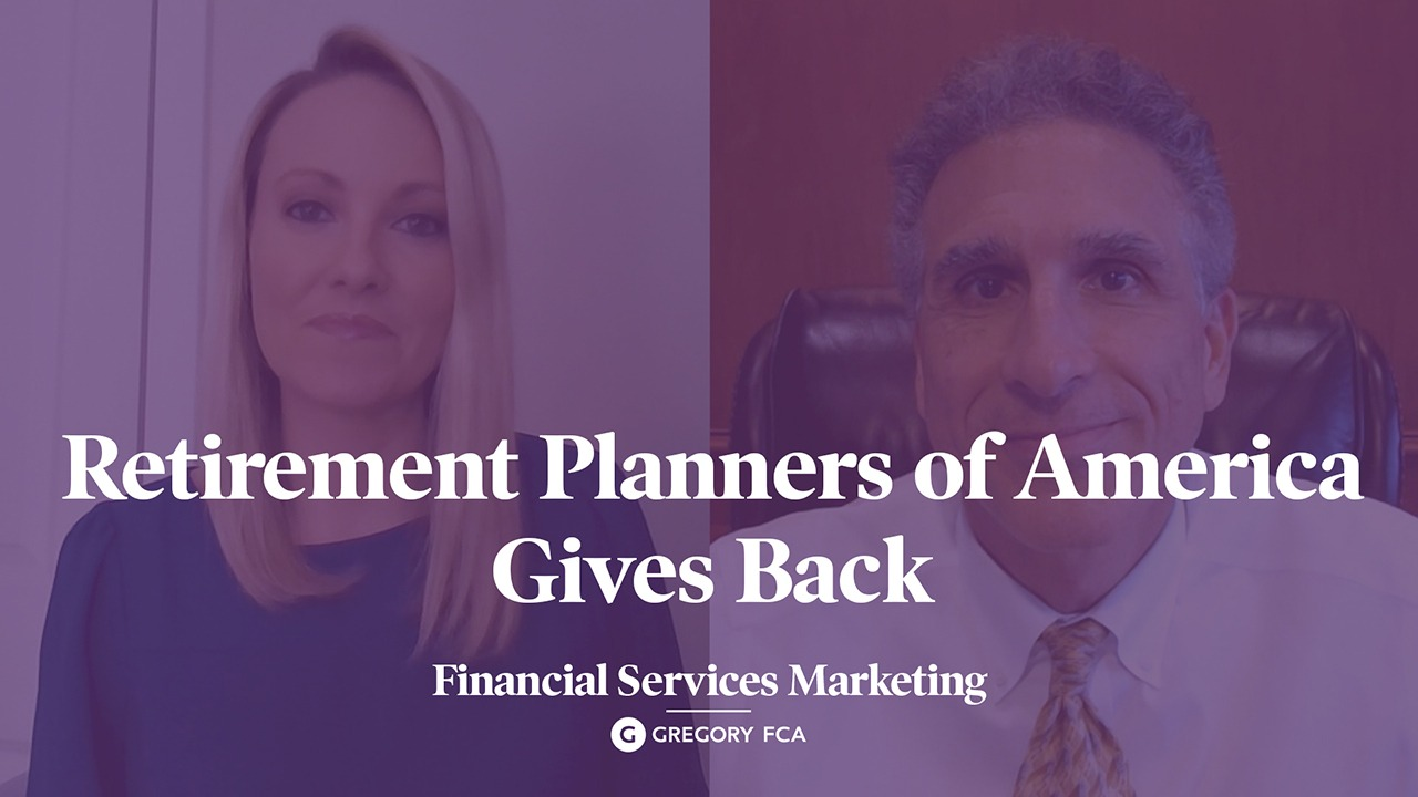 Green Shoots: Retirement Planners of America gives back