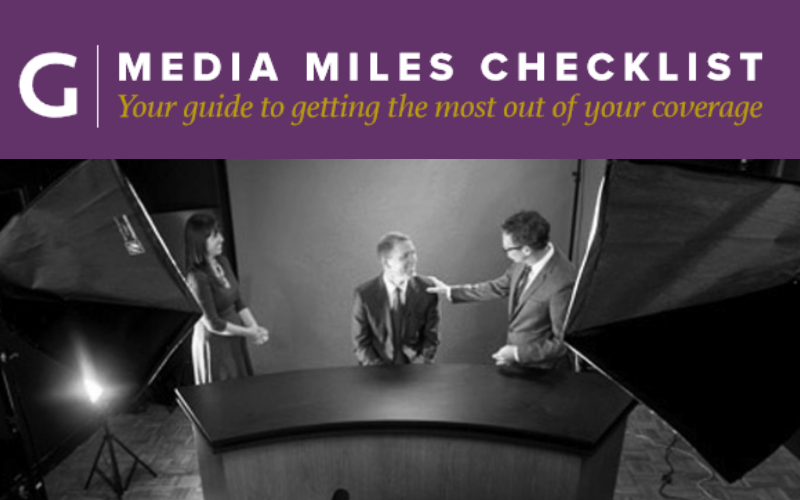 Get more marketing mileage out of your media coverage