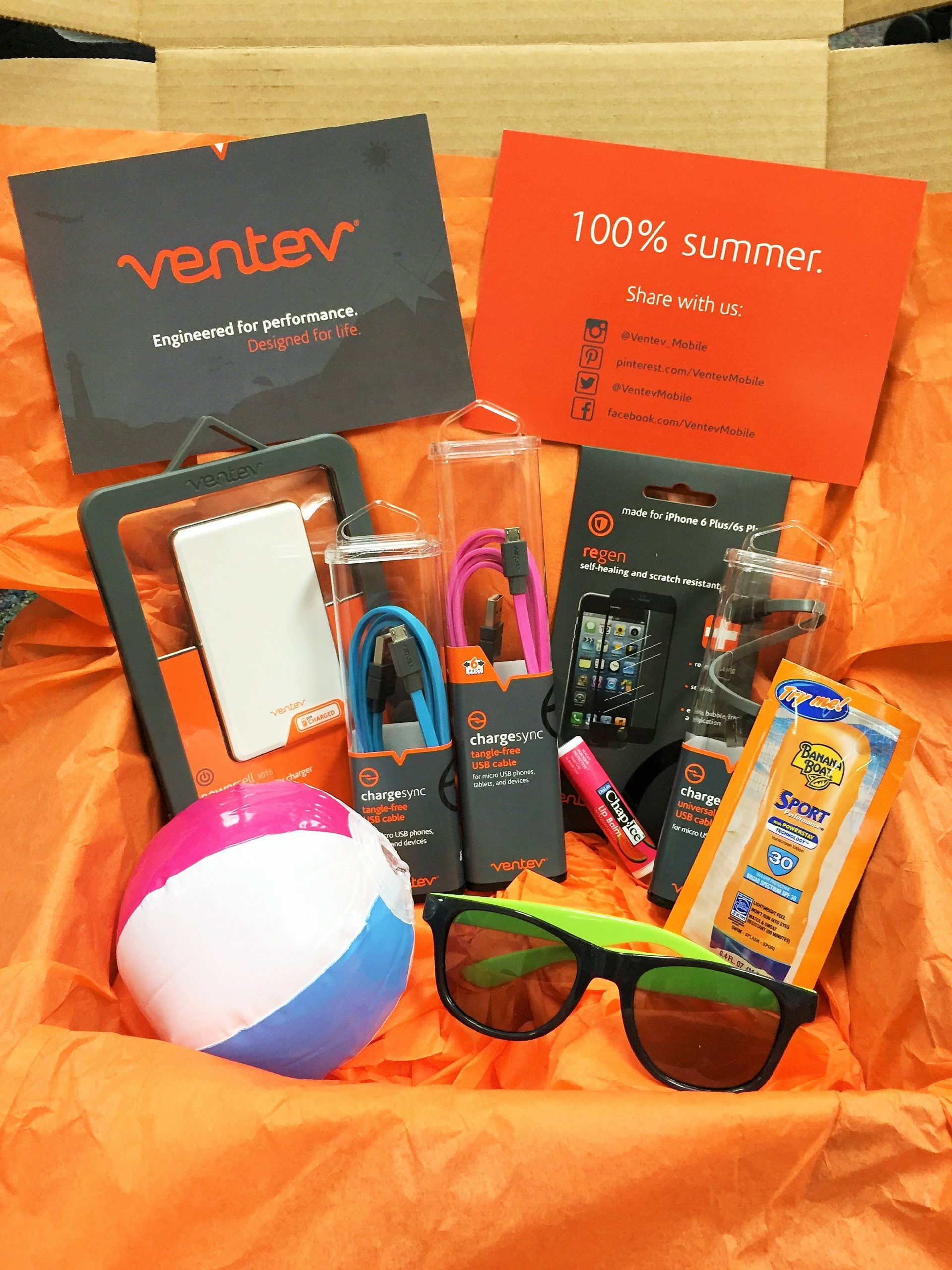 Summer essentials kit for influencers