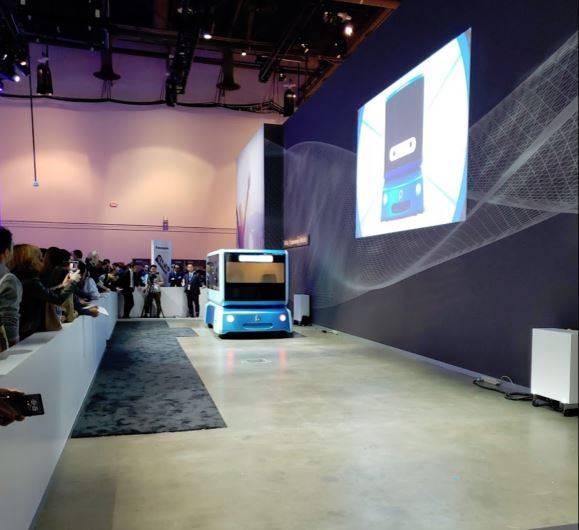 CES autonomous vehicle