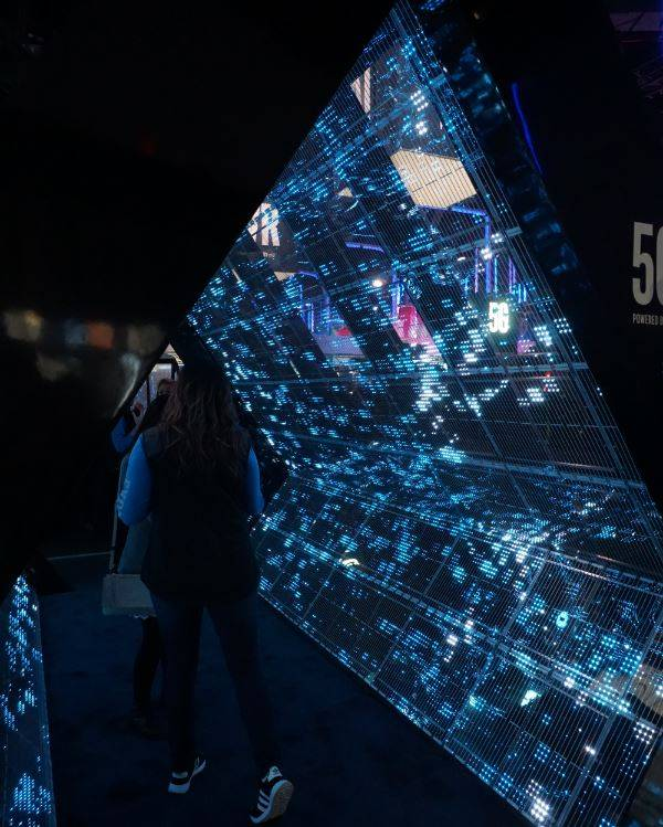 5G tunnel at CES