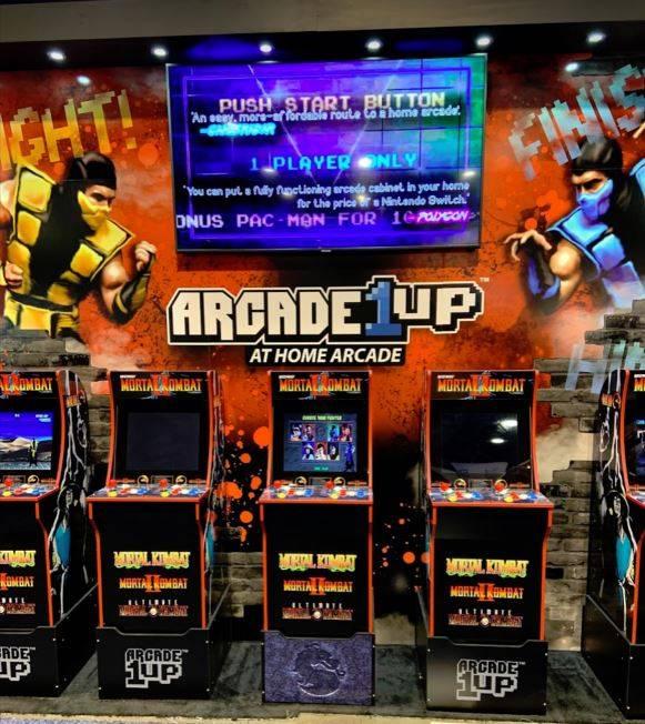 CES arcade