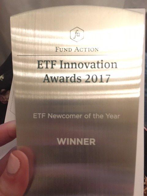 Fund Action ETF Innovation Awards - ETF Newcomer