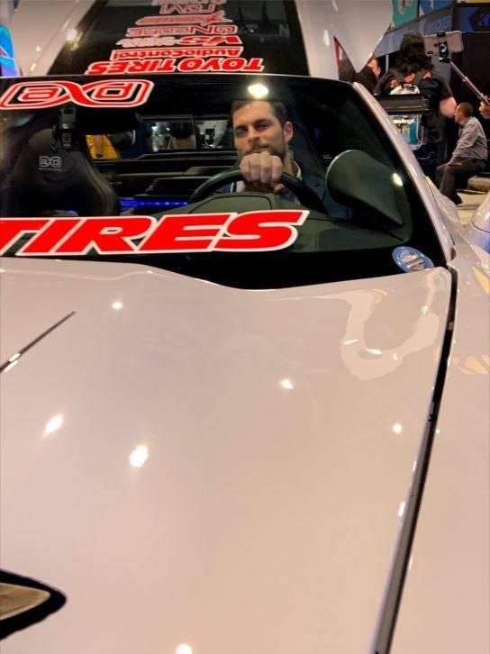 Jake in car CES