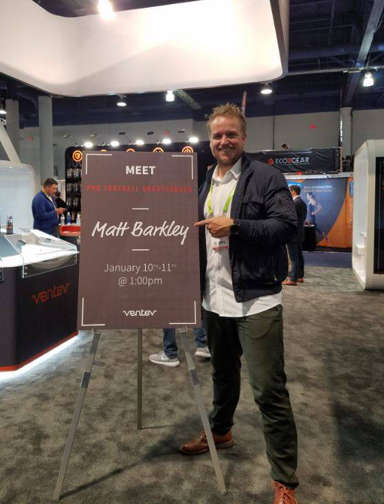 Matt Barkley at CES