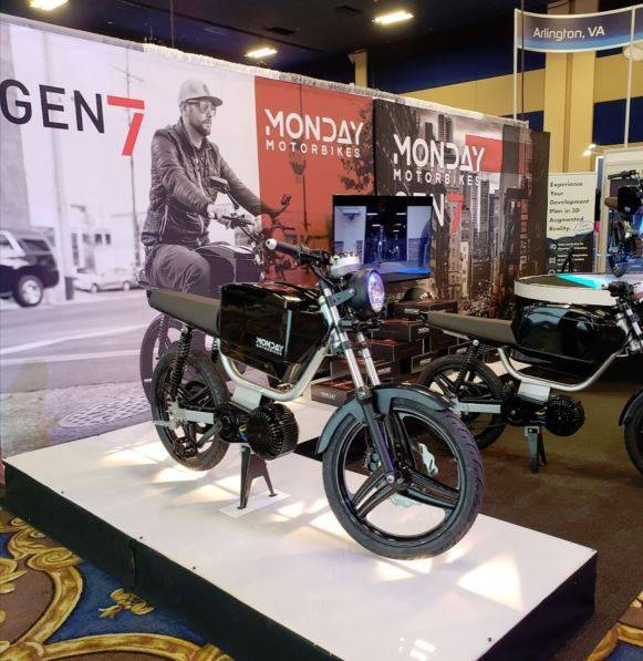 Monday Motorbikes electric bike