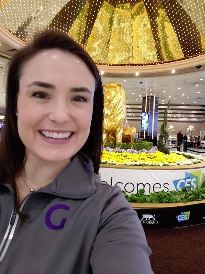 Cassie at Pepcom Digital Experience