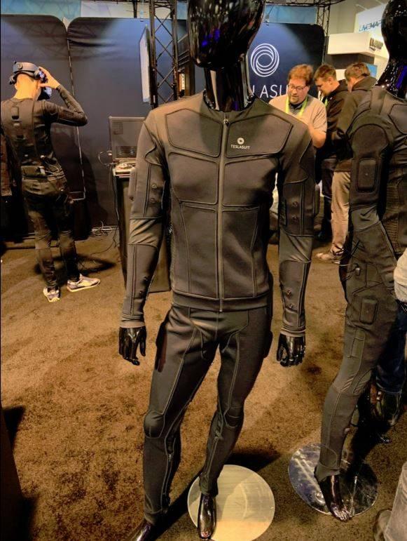 Teslasuit full body haptic VR suit