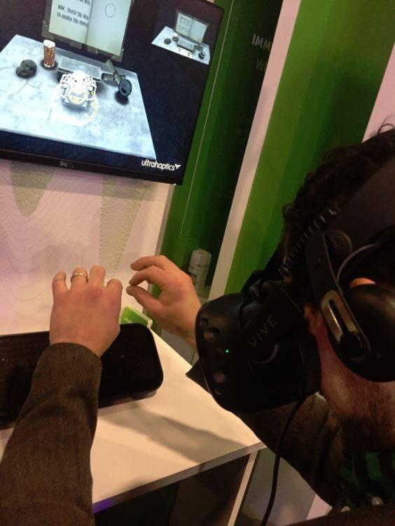 Ultrahaptics VR