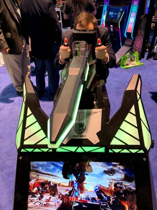 VR Weapon CES